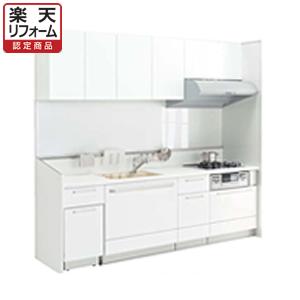 トクラスキッチン ベリーI型デュアルワーク食洗機プラン 間口2550 扉シリーズE・C【リフォーム認定商品】