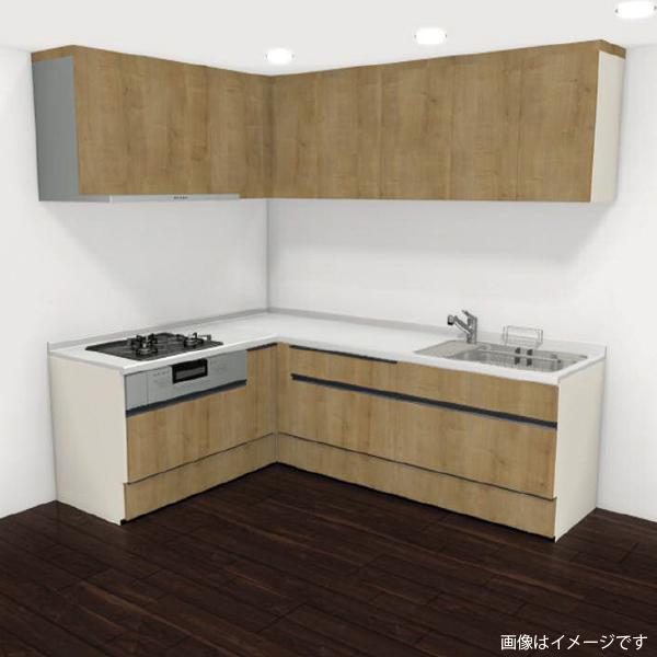 [リリパ オリジナルプラン]リクシル LIXIL システムキッチン アレスタ L型 間口2400×1800(Bプラン)商品のみ