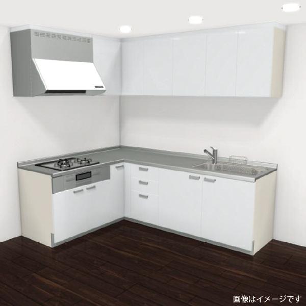 [リリパ オリジナルプラン]リクシル LIXIL システムキッチン シエラ L型 間口2400×1800(Aプラン)商品のみ