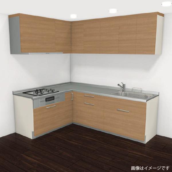 [リリパ オリジナルプラン]リクシル LIXIL システムキッチン シエラ L型 間口2400×1800(Bプラン)商品のみ