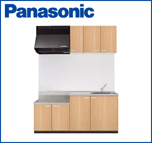 システムキッチン パナソニック APキッチン テーブルコンロタイプ 間口1650mm 吊戸棚高さ500mm 扉シリーズ10 商品のみ 【配送先関東のみです】