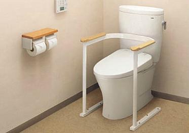 TOTO 福祉用具 トイレ用手すり EWC210R
