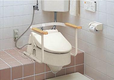 TOTO 福祉用具 トイレ用手すり 和風改造用腰掛便器用 EWC211AR