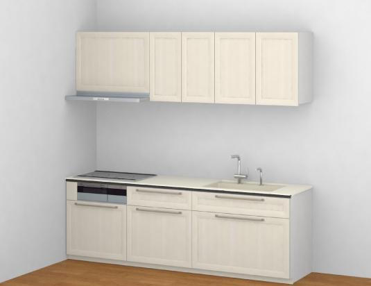 TOTO システムキッチン ザ・クラッソ I型 基本プラン[リフォーム産業フェア2018展示モデル] 間口2550 食洗機なし 扉デザイン4A 商品のみ