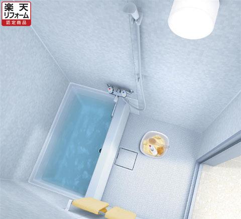 TOTOマンションリモデルバスルーム WHV1115 Sタイプ 1室換気扇(IKKC5)つき リリパの組立パック【リフォーム認定商品】