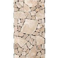 床 ジョイントタイル 簡単 はめ込み式 フロアタイル ベランダ 玄関 リビングマット ラグ 天然石 オシャレ 石 5枚単位 (REROOM)