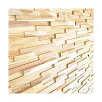 ウッドパネル 壁 無垢材 天然木 チーク WP101-14 ウォールパネル 付 パネル 低価格 DIY 卓出 アクセント 14枚セット 貼り付けるだけ 粘着テープ