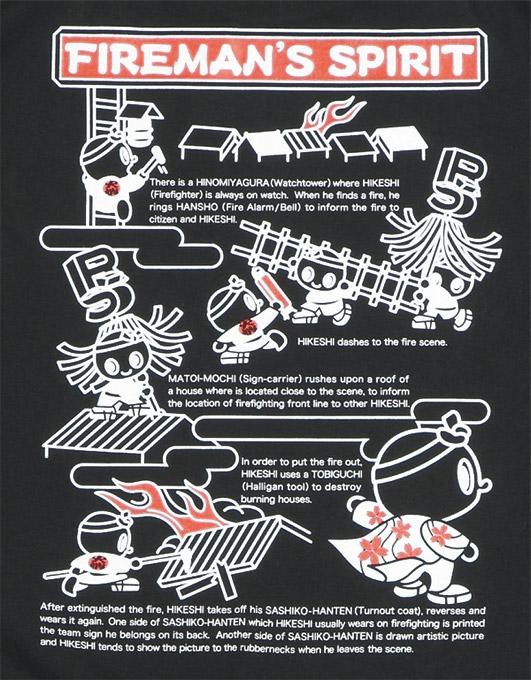 HIKESHI SPIRIT T恤(62-033):RESCUE SQUAD[resukyusukuwaddo]