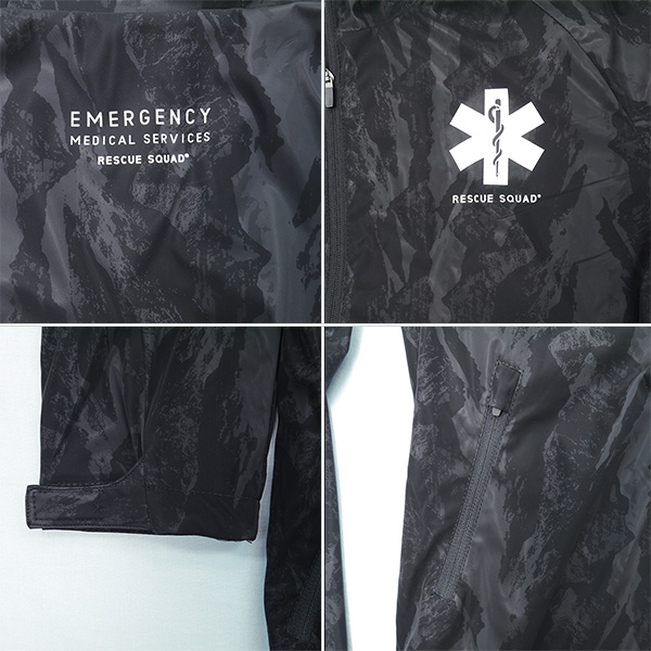 EMS 3D ensemble (Hoodie Setup men's long sleeve black fire men rescue RESCUE SQUAD rescue squad ambulance EMT EMS fall fall/winter fall and winter fall/winter clothes)
