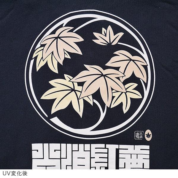 Fire leaves UV Hoodie [05P01Oct16]