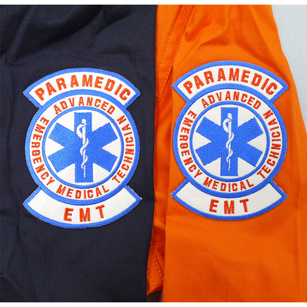EMT STAND ZIP shirt (shirt blouson jumper men's long-sleeved Navy Orange fire men rescue RESCUE SQUAD rescue squad tops adult fall fall/winter fall and winter autumn/winter clothing) [05P01Oct16]