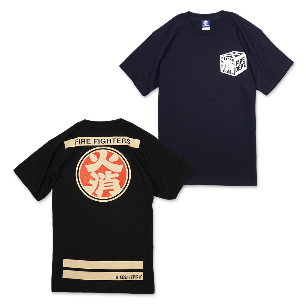 Happi-inspired design of the fire brigade's popular! OD under T shirts (65-034) :RESCUE SQUAD [rescue squad.