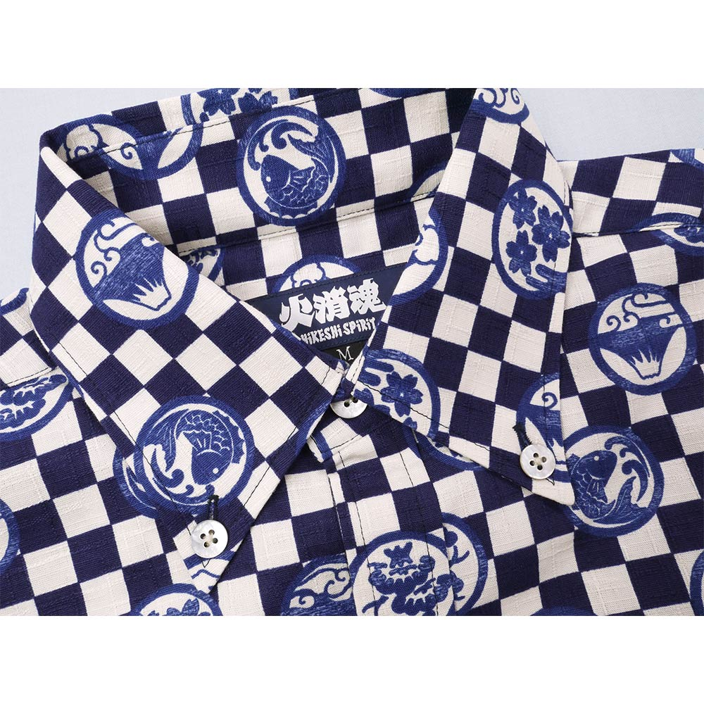 Sum pattern S/S shirt (family coat of arms)