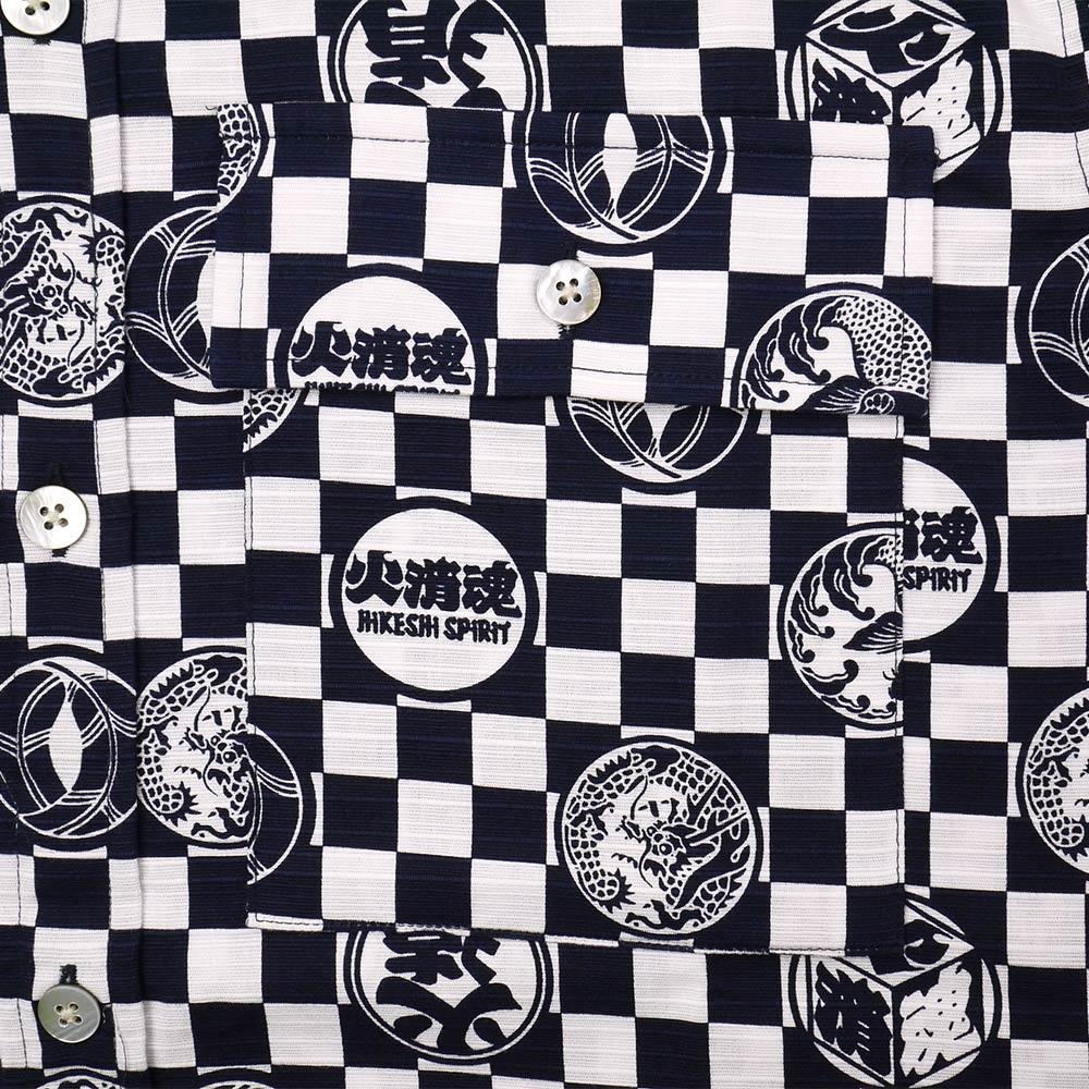 Sum pattern S/S shirt (fire fighter spirit)