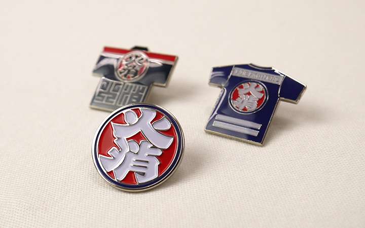 Fire fighter short coat pins