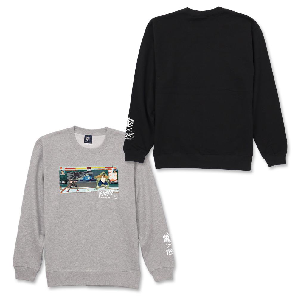 NAGA X HIKESHI VS sweat shirt