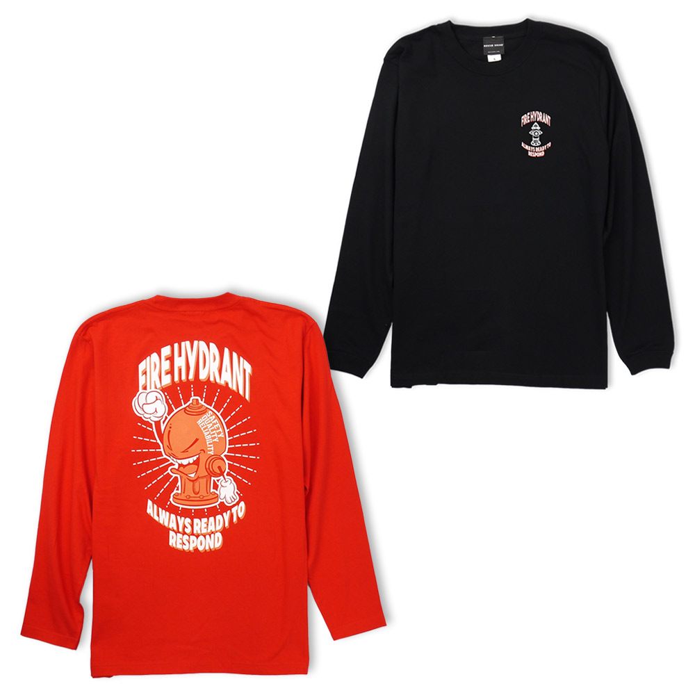 [product targeted for Class two pieces] the 2P FIREHYDRANT long T-shirt list price: 4,860 yen