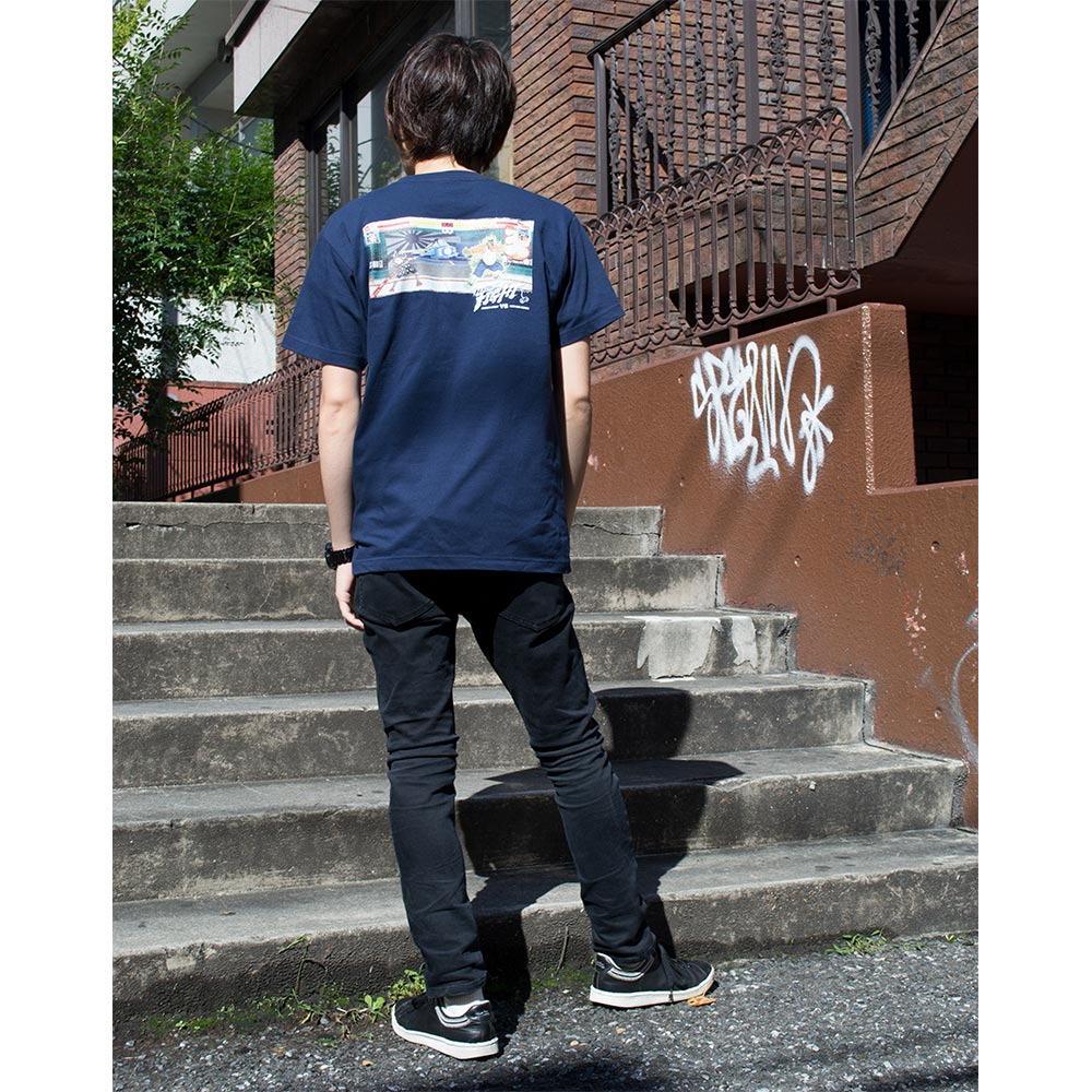 NAGA X HIKESHI VS T-shirt
