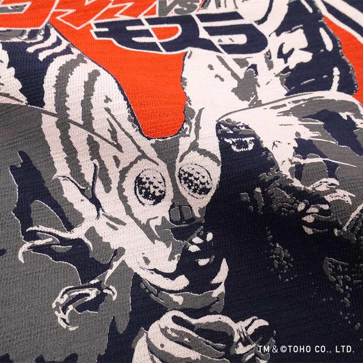 Godzilla VS Mothra fire fighter spirit T-shirt [GODZILLA]