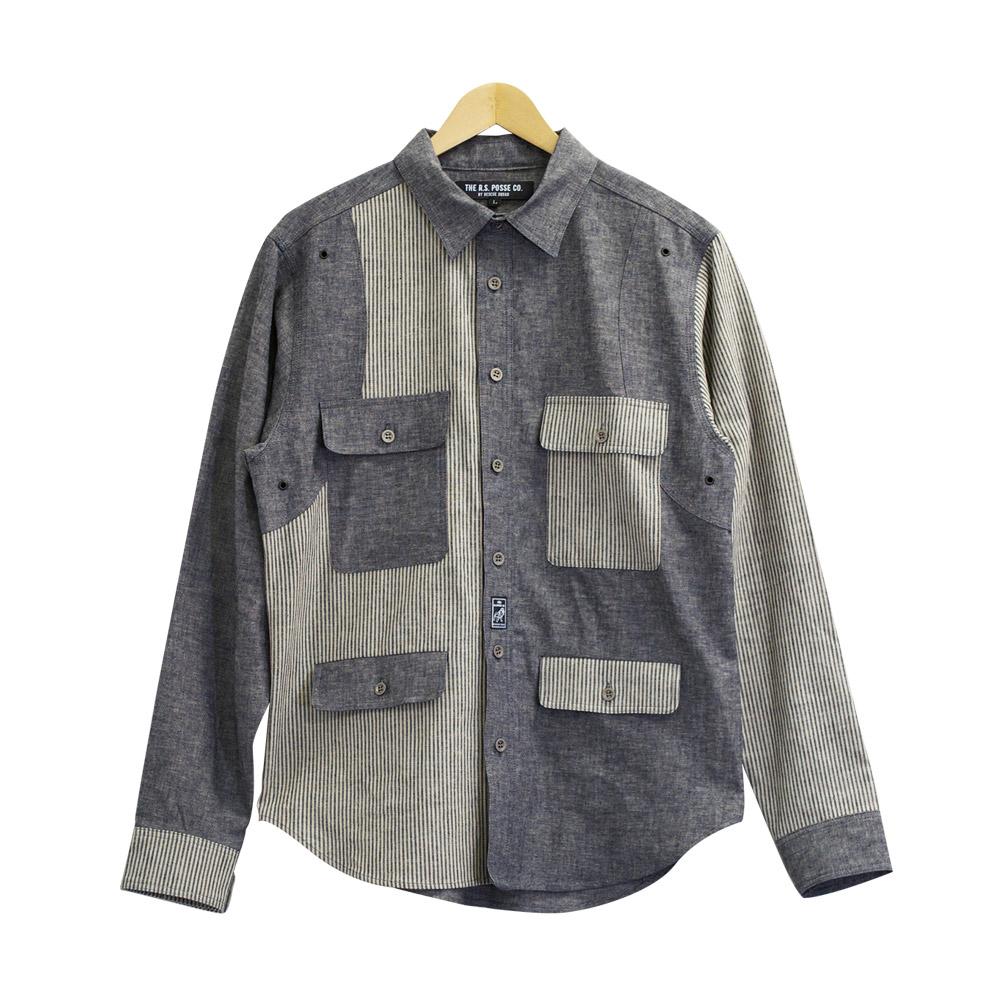TPC E&L DUNGAREEシャツ