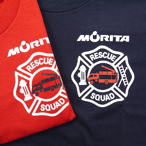 森田长 T 恤 7 型孩子 (999-2300):RESCUE 球队 [救援小分队。