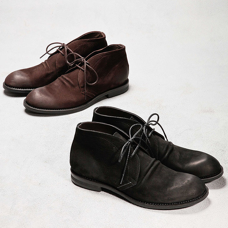 【MROLIVE(ミスターオリーブ)】【予約販売12月中~下旬入荷】ME535 WATER PROOF NUBUCK LEATHER /CHUKKA BOOTS