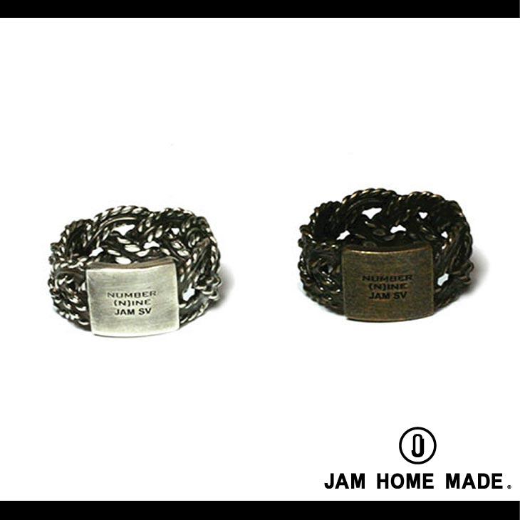 JAM HOME MADE ジャムホームメイドJNN RI004 ×NUMBER N INE BRAIDING RING 指輪thQsdr