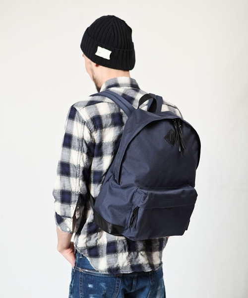 【MROLIVE(ミスターオリーブ)】ME630CN CORDURA500×WP LEATHER /DAY PACK