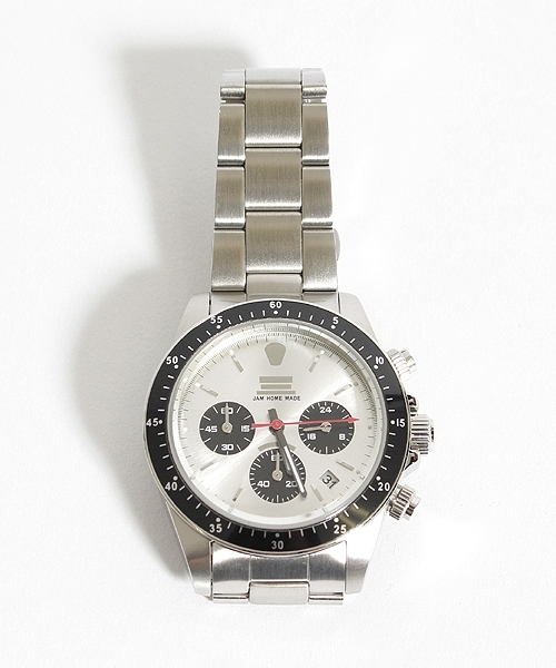 【JAM HOME MADE(ジャムホームメイド)】JAM WATCH TYPE-C(SILVER DIAL)