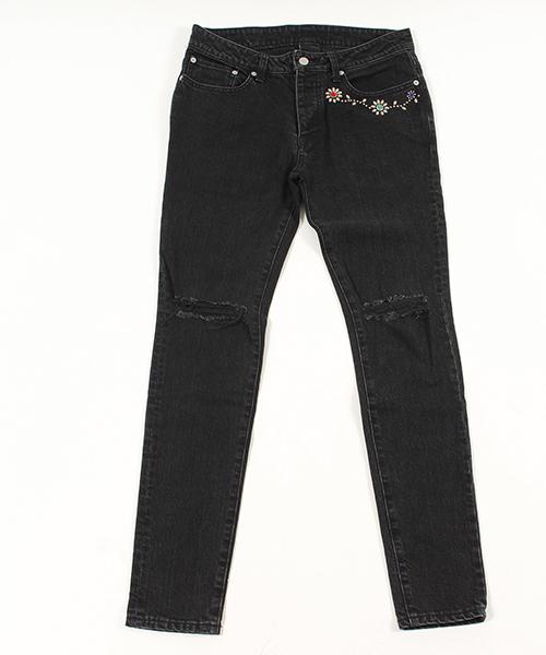 【AKM】AKM×HTC studs denim pants パンツ
