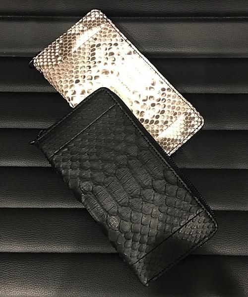 【DECADE(ディケイド)】【予約販売ご注文から1週間後出荷】DCD-00315R-Python Leather Round Wallet 財布