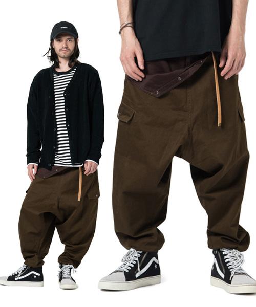 【glamb(グラム)】GB17AT-P04-Willow pants-ウィローパンツ