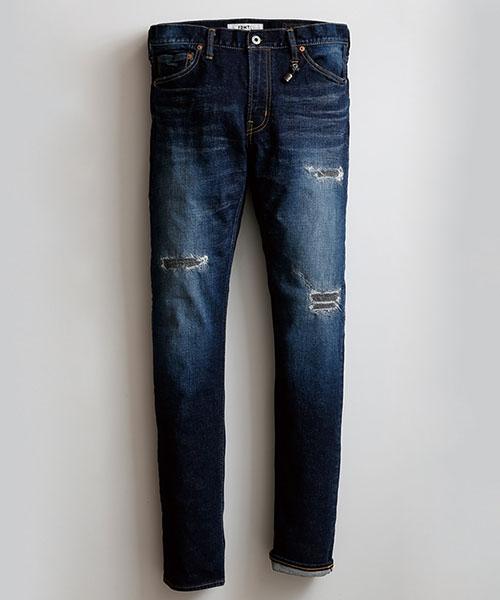 John Varvatos Star USA Men/'s Bowery Fit Slim Straight Jeans Denim Seal Grey W36