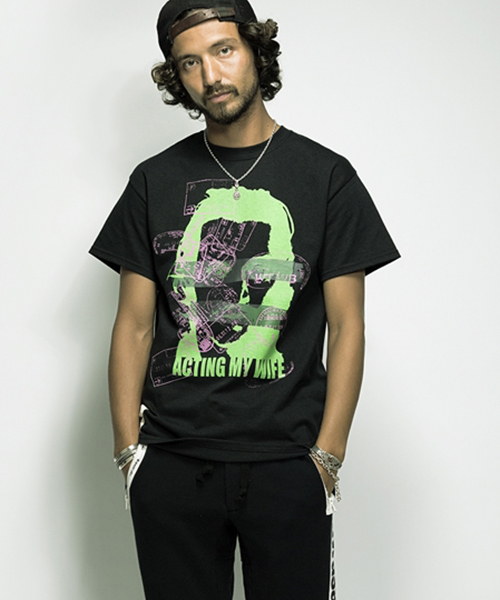 【SEVESKIG(セヴシグ)】-CT-SV-HS-1008-T-SHIRT(MY LIFE) Tシャツ:CAMBIO