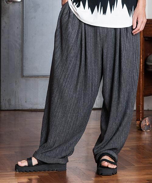 【glamb(グラム)】GB0118-MN14-Loose pants-ルーズパンツ