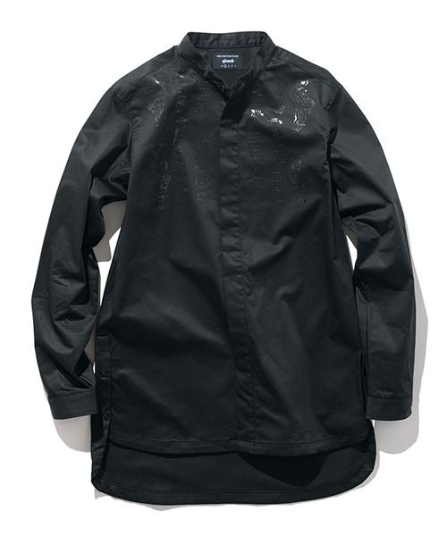 【glamb(グラム)】GB0118-SH02-Fuzzy SH ファジーシャツ