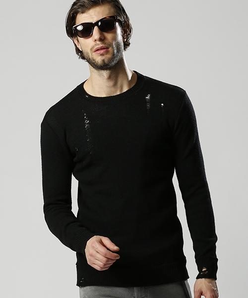 【wjk】grunge knit ニット(6842 kw74k)