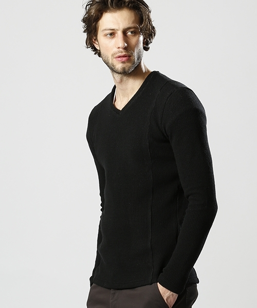 【wjk】W-face knit sewn ニット(6838 kw72k)