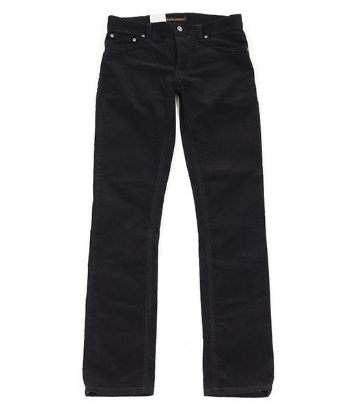 【Nudie Jeans(ヌーディージーンズ)】GRIM TIM BLACK CORD パンツ(112554032)