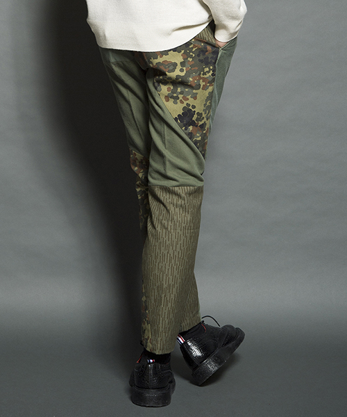 【SEVESKIG(セヴシグ)】VINTAGE REMAKE PANTS パンツ(PT-SV-HA-1003)