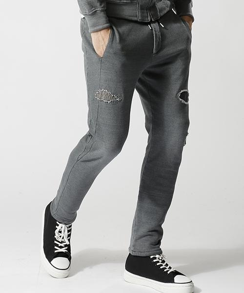 【wjk】knit denim pants パンツ(5891 dj20k)