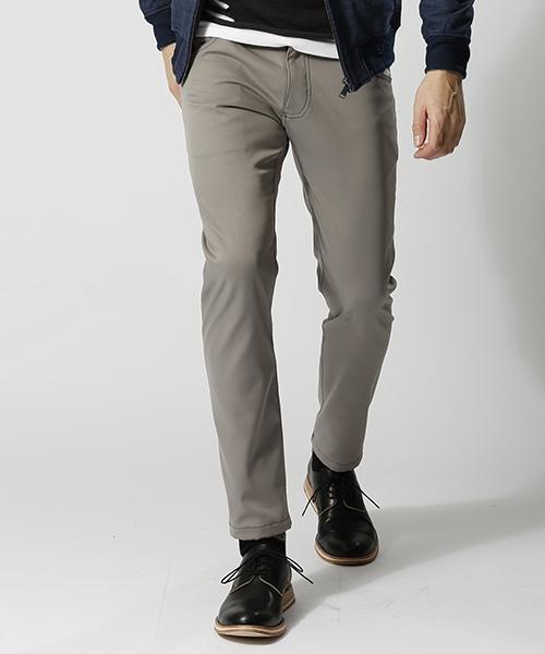 【wjk】tight pants(back fleece) パンツ(5823 cf28k)