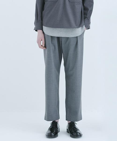 【CULLNI(クルニ)】パンツ(18-AW-021)