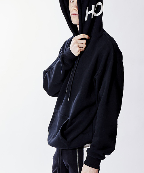 【attack the mind 7】HEAVY DROP PO PARKA SIMPLE LOGO パーカー(ATMU115-CP01)