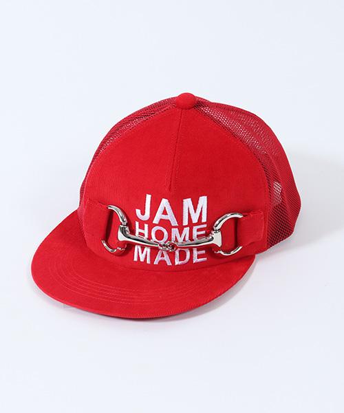 【JAM HOME MADE(ジャムホームメイド)】xCA4LA BIT TENDENCY MESH CAP キャップ(JC4CP10)