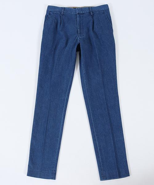 【junhashimoto(ジュンハシモト)】S-D ONE TUCK PANTS パンツ(1071810042)