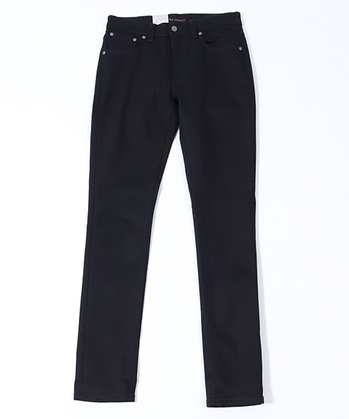 【Nudie Jeans(ヌーディージーンズ)】LEAN DEAN792 DRY EVER BLACK デニムパンツ(112498032)