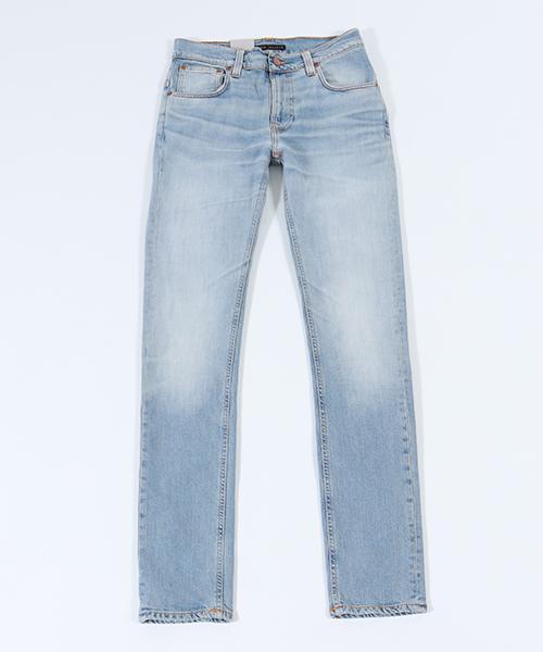 【Nudie Jeans(ヌーディージーンズ)】THIN FINN885 SUMMER OCEAN デニムパンツ(112804032)