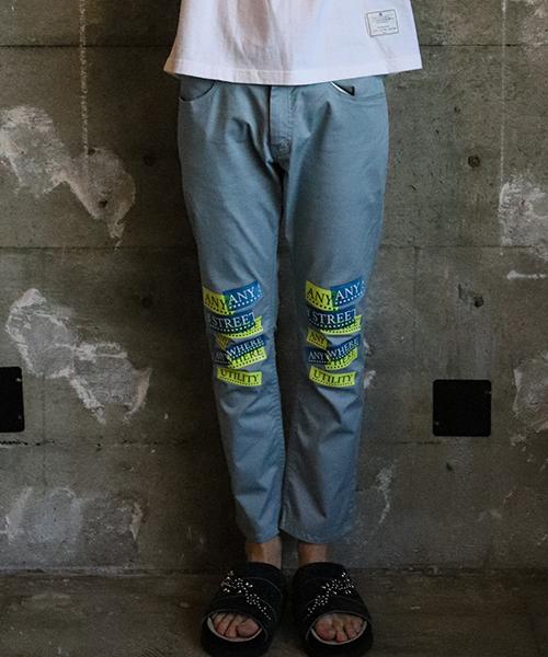 【EFFECTEN(エフェクテン)】skinny pantsANY STREET ANY WHEREパンツ(efct-24)