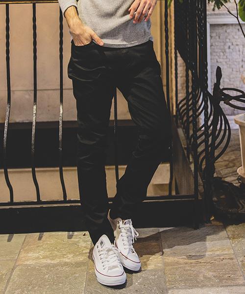 【felkod(フィルコッド)】Minimal Stretch Skinny Pants パンツ(F18W220)
